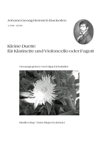 Joh. G. H. Backofen: Kleine Duette für Cl and Vc or Fg