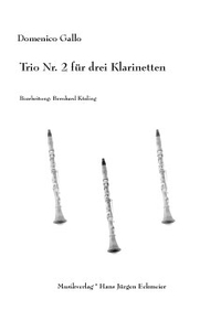 Domenico Gallo: Trio Nr. 2 für drei Klarinetten