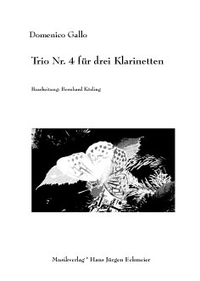 Domenico Gallo: Trio Nr. 4 für drei Klarinetten