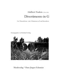 Adalbert Nudera (1746-1811): Divertimento in G (DOWNLOAD)