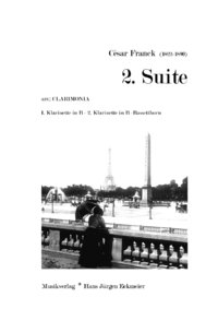 César Franck (1822-1890): 2nd Suite (Download)